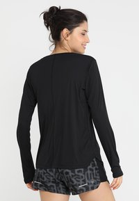 ASICS - SILVER - Long sleeved top - performance black - 2