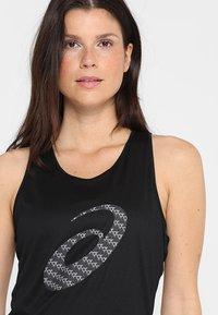 ASICS - GRAPHIC TANK - Toppe - performance black - 5