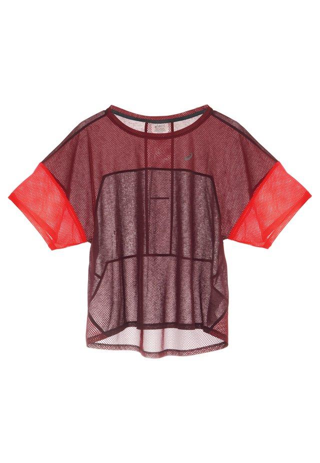 STYLE  - Camiseta estampada - deep mars/chili flake