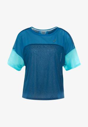 STYLE  - T-shirt z nadrukiem - mako blue/deep sapphire