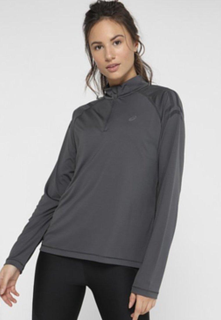 ASICS - ICON - Sportshirt - dark grey/black