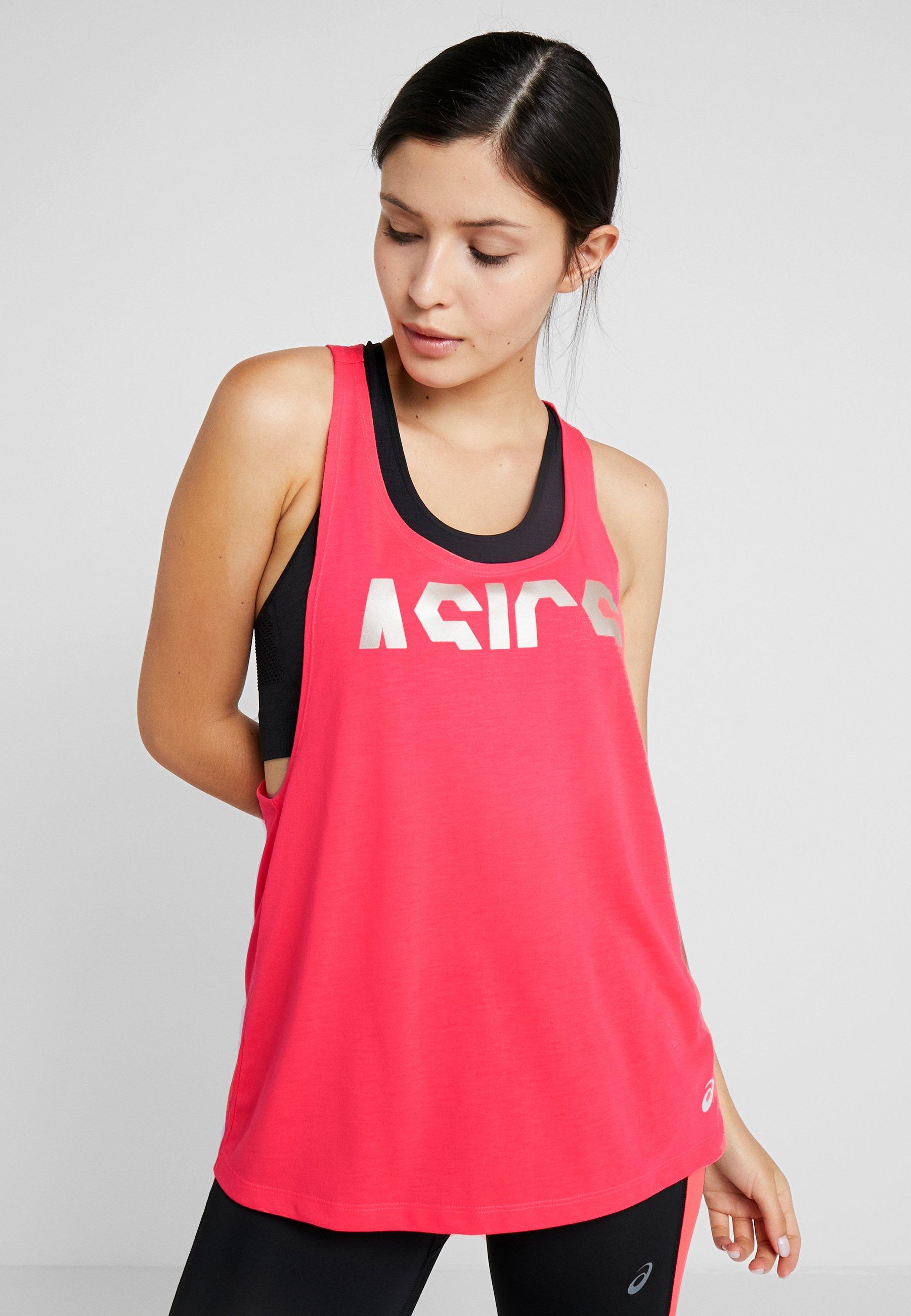 Strap De TankT Laser shirt Sport Asics Pink 4R5jAL
