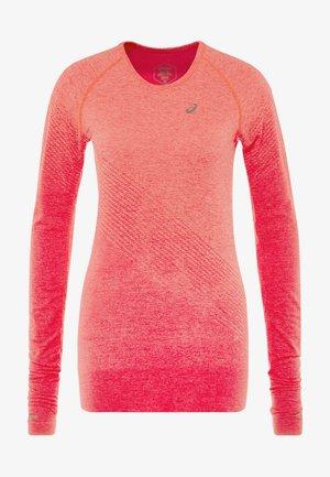 SEAMLESS TEXTURE - Sports shirt - laser pink