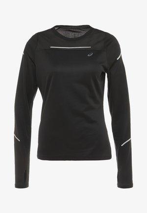 LITE SHOW - Long sleeved top - performance black