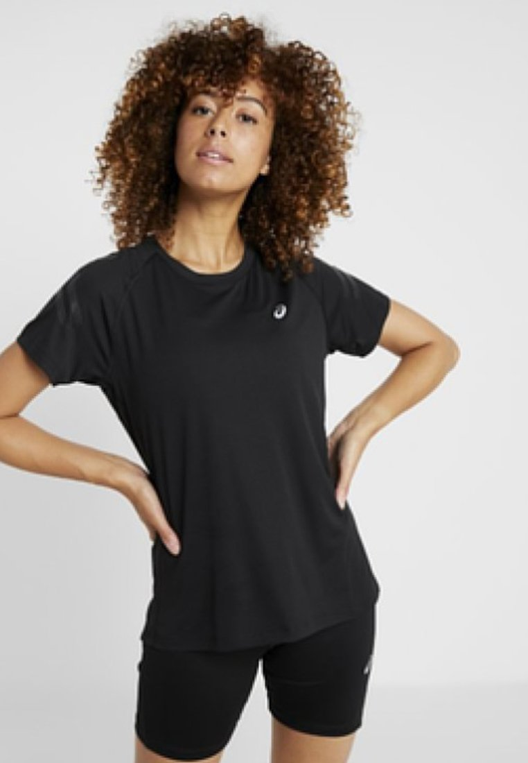 ASICS - Camiseta estampada - black/dark grey