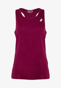 ASICS - TANK - Top - dried berry - 3
