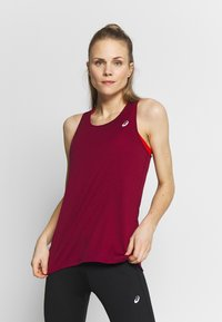 ASICS - TANK - Top - dried berry - 0