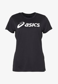 ASICS - SILVER ASICS  - Camiseta estampada - performance black / brilliant white - 4