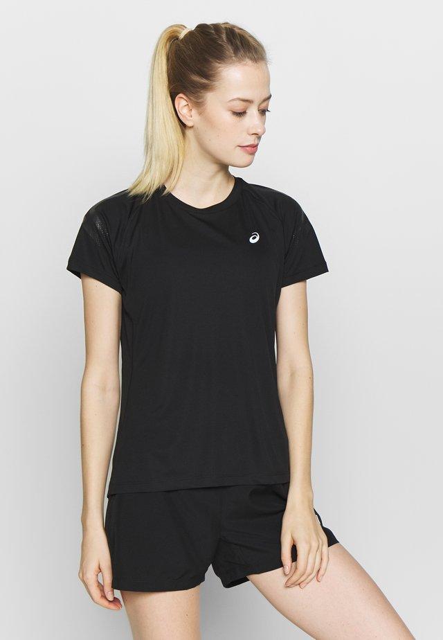 ICON - T-shirt z nadrukiem - performance black/dark grey