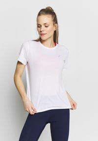 ASICS - KATAKANA - T-shirt med print - brilliant white - 0