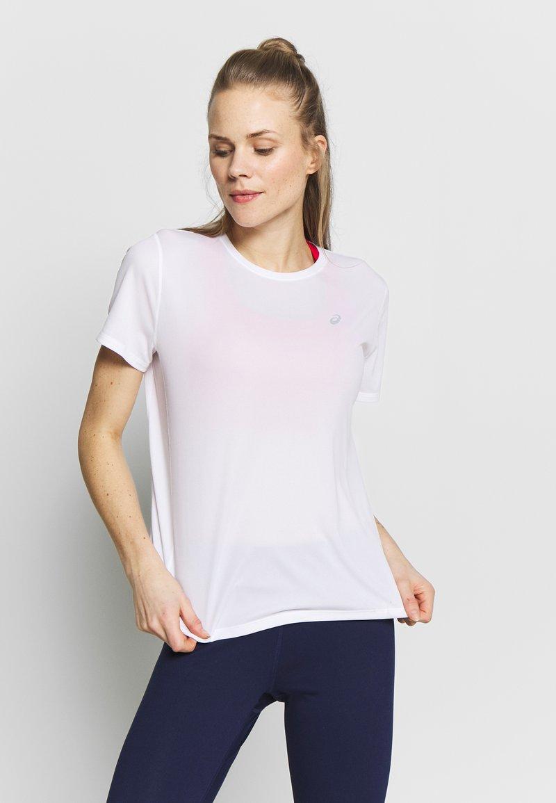 ASICS - KATAKANA - T-shirt med print - brilliant white