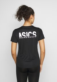 ASICS - KATAKANA - Camiseta estampada - performance black