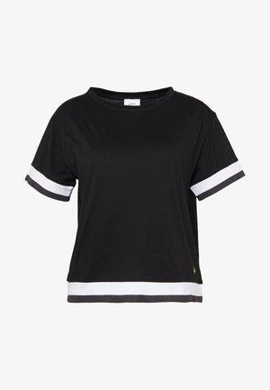 TOKYO TRAIN TOP - Print T-shirt - performance black/brilliant white