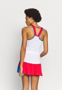 ASICS - CLUB TANK - Funkční triko - electric blue/classic red - 2