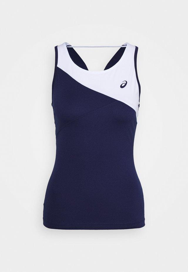 CLUB TANK - T-shirt de sport - peacoat/brilliant white