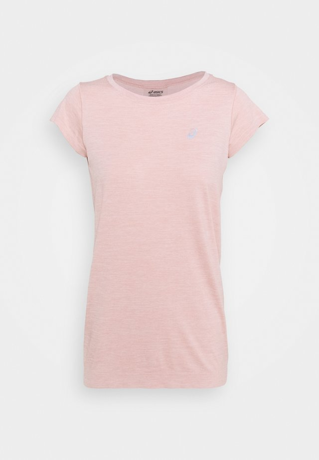 RACE SEAMLESS - T-shirts - ginger peach
