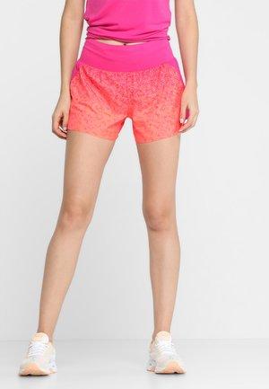 SHORT PRINT - Sports shorts - hex fade flash coral