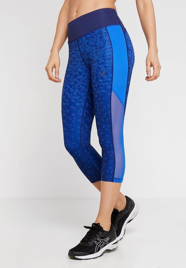 CAPRI PRINT - 3/4 Sporthose - indigo blue