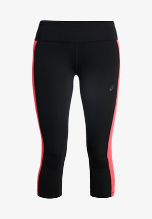 CAPRI - 3/4 sportbroek - performance black/laser pink