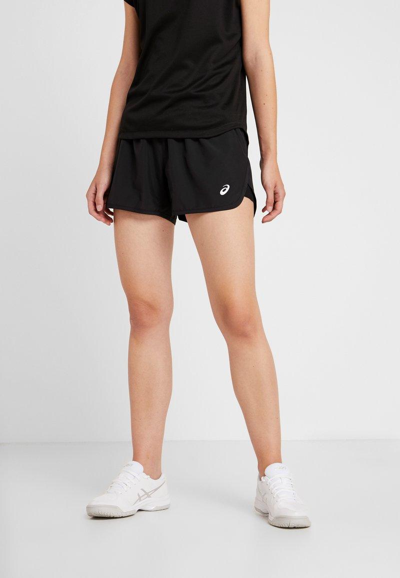 ASICS - PRACTICE SHORTS - Pantalón corto de deporte - performance black