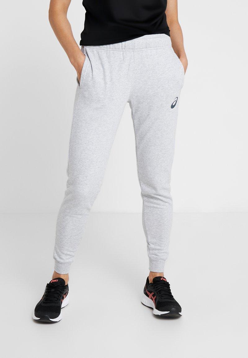 ASICS - BIG LOGO PANT - Pantaloni sportivi - mid grey heather/dark grey