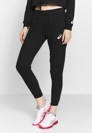BIG LOGO PANT - Verryttelyhousut - performance black/brilliant white