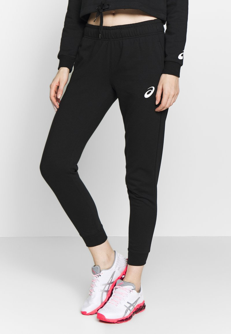ASICS - BIG LOGO PANT - Teplákové kalhoty - performance black/brilliant white