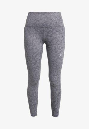 HIGH WAIST - Punčochy - mid grey heather/dark grey heather