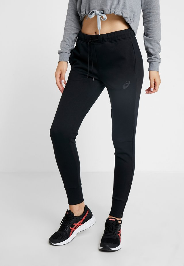 TAILORED PANT - Tracksuit bottoms - performance black