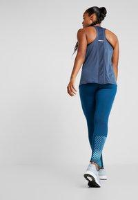 ASICS - LITE SHOW WINTER - Legging - mako blue - 2
