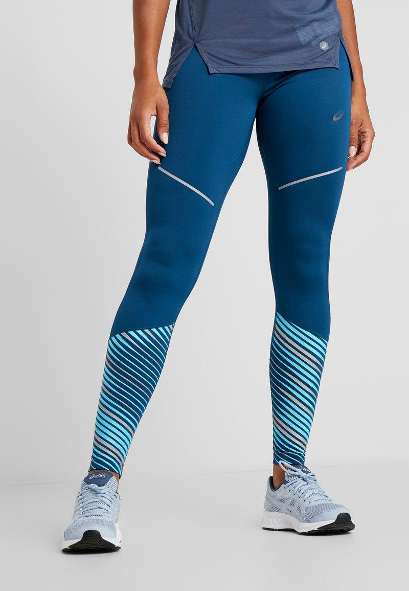 ASICS - LITE SHOW WINTER - Legging - mako blue