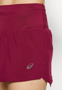 ASICS - ROAD SHORT - Sports shorts - dried berry - 5