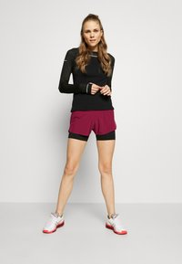 ASICS - ROAD SHORT - Sports shorts - dried berry - 1