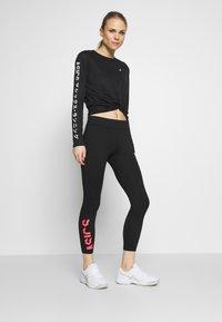 ASICS - Leggings - performance black/diva pink - 1