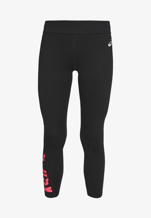 Legginsy - performance black/diva pink