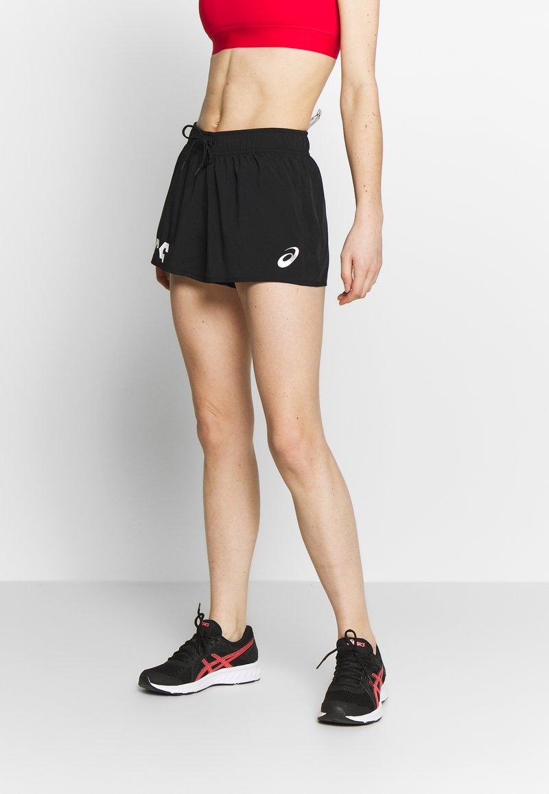 ASICS - SHORT - Pantaloncini sportivi - performance black