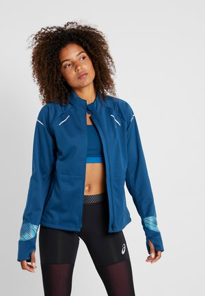 LITE SHOW WINTER JACKET - Běžecká bunda - mako blue