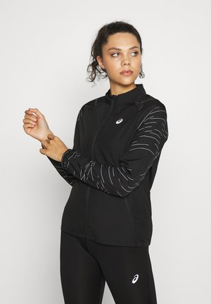 NIGHT TRACK JACKET - Chaqueta de deporte - black