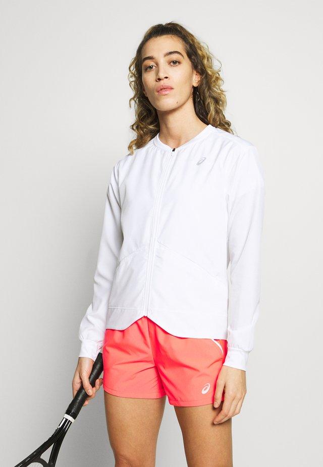 CLUB JACKET - Sportovní bunda - brilliant white