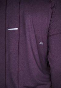 ASICS - THERMOPOLIS ZIP HOODIE - Sports shirt - deep mars heather - 4