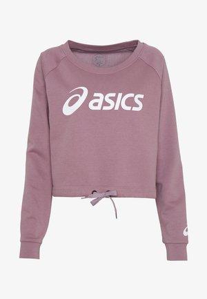 BIG CROPPED CREW - Sweater - purple oxide/brilliant white