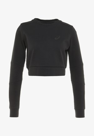 TAILORED CROPPED CREW - Sweater - performance black