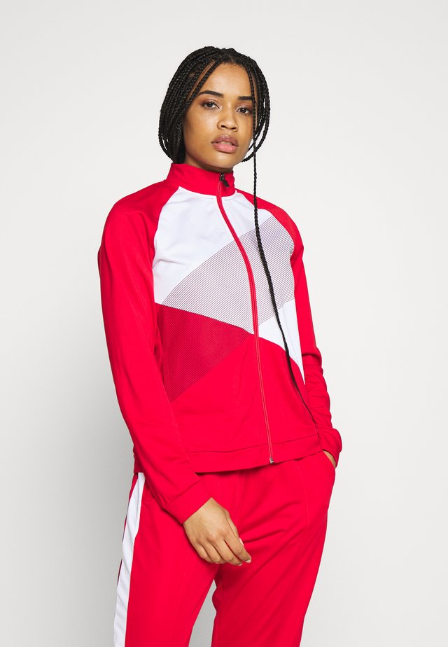 TOKYO WARM UP - Sportovní bunda - classic red/brilliant white