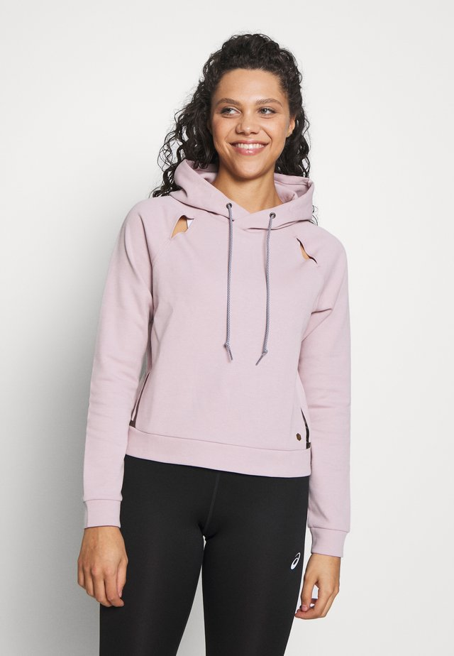 PIPED DREAM HOODY - Jersey con capucha - watershed rose