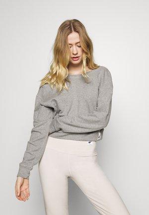 SHIZUKA CROPPED - Sweater - mid grey