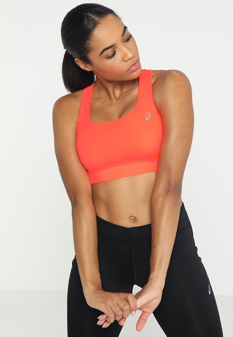 ASICS - SPROUT - Sports bra - flash coral