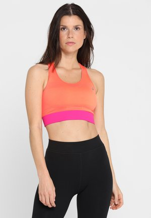 SEAMLESS - Sports bra - flash coral/pink rave