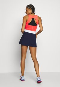 ASICS - TENNIS DRESS - Jersey dress - diva pink/peacoat - 2