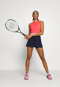 ASICS - TENNIS DRESS - Jersey dress - diva pink/peacoat - 1