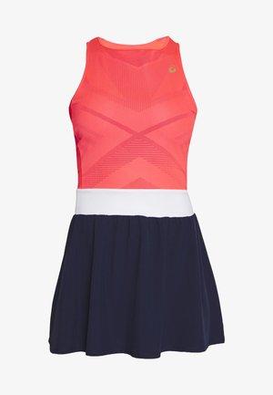 TENNIS DRESS - Jerseykleid - diva pink/peacoat